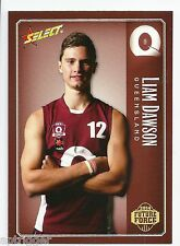 2014 Future Force Base Card (18) Liam DAWSON NT / Brisbane