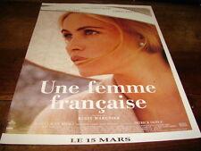 EMMANUELLE BEART - Publicité de magazine FILM UNE FEMME FRANCAISE !!!!!!!!!!!
