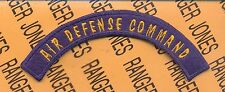 USAAF Army Air Force AIR DEFENSE COMMAND ADC tab arc patch