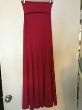 Carilyn Vaile Raspberry Pink Long Flowy Skirt Size S NWT Maxi Skirt