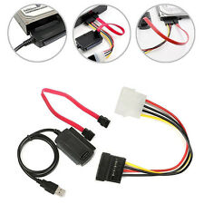 SATA/PATA/IDE to USB 2.0 Adapter Converter Cable for 2.5 / 3.5 Inch Hard Drive
