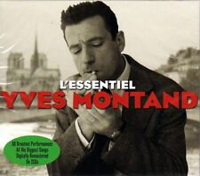 YVES MONTAND - L`ESSENTIEL (NEW SEALED 2CD)