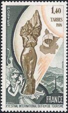 France 1976 tourisme/touristique film association/statue/emblème 1v (n44724)