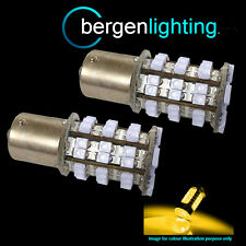 382 1156 BA15s 245 P21W AMBER 48 SMD LED FRONT INDICATOR LIGHT BULBS FI202201