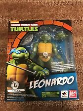 NEW Bandai Genuine SH Figuarts Teenage Mutant Ninja Turtles LEONARDO