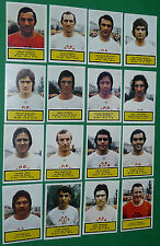 AGEDUCATIFS PANINI FOOTBALL 1975-76 STADE REIMS AUGUSTE-DELAUNE COMPLET 75-1976