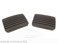 GENUINE PORSCHE 924 AND 944 CLUTCH AND BRAKE PEDAL RUBBERS