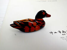 6 CHINESE CHOPSTICKS MANDARIN DUCK STAND REST BRUSH JAPANESE BIRTHDAY PARTY