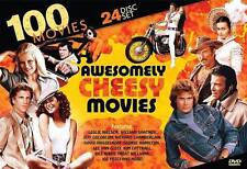 100 Awesomely Cheesy Movies (DVD, 2014, 24-Disc Set) - NEW!!