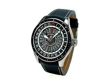 Poljot International 24 Horas Reloj Mundial 2423.3001332 Cuerda Manual