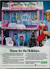 1986 BARBIE Glamour Home : Magazine PRINT AD
