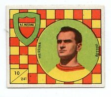 FIGURINA    CALCIATORI   VAV  1958-59    NR  241   BETTINI    MESSINA