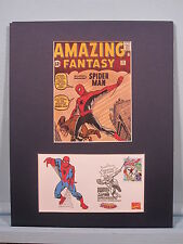 Marvel Comics Superhero - Spiderman & First Day Cover