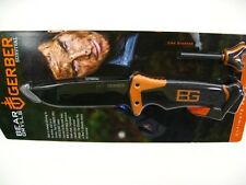GERBER Bear Grylls Ultimate PRO Survival Knife + Sheath + Whistle! 31-001901