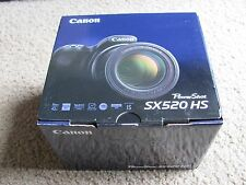 New Canon PowerShot SX520 HS 16.0 MP Digital Camera with 42x Optical Zoom Black