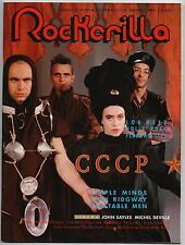 ROCKERILLA  # 105 cccp simple minds lou reed the flaming lips stan ridgway