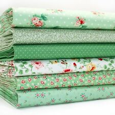 FQ Bundle - Scoot - Spring Green Small Floral x 6 - Cotton Fabric Patchwork Quil