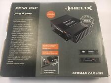 New Helix PP50DSP digital signal processor with built-in 5-channel amplifier