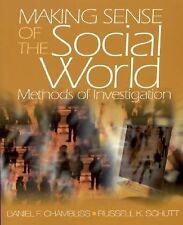 Making Sense of the Social World: Methods of Investigation (Pine Forge Press Pub