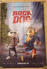 ROCK DOG DS Authentic UNUSED Theater 27x40 Movie Poster