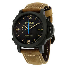 Panerai Luminor 1950 3 Days Chrono Flyback Black Dial Automatic Mens Watch