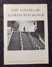 1963 THE CINEMA OF ALFRED HITCHCOCK Museum of Modern Art FN+ 6.5