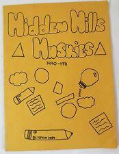 1991 Yearbook Hidden Hills Elementary School Phoenix Arizona MemorabiliaY