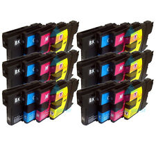 24 pack Compatible LC61 Ink Cartridge for Brother DCP-165c DCP-375CW DCP-385CW
