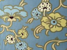 By 1/2 Yard Amy Butler Cotton Fabric Gypsy Caravan Velvet Vine Stainless Flowers