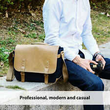 K&F Concept Casual Travel DSLR SLR Camera Laptop Case Messenger Shoulder Bag