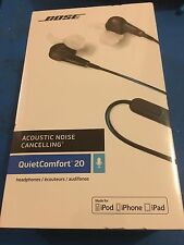 Bose QC20 QuietComfort headphones for iPhone And Apple Devices