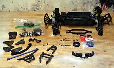 Traxxas Stampede 4x4 Roller Chassis Tekno Kingheadz RPM brushless Slash +Extras