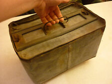 Vintage Antique Egg Crate Carrier - Metal - Holds 4 Dozen Eggs - Farm Chicken