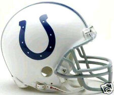 Indianapolis Colts NFL Football Team Logo Riddell Mini Helmet