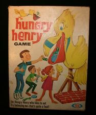 Hungry Henry Game 1969 Ideal Toys balancing game vintage