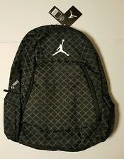 Nike AiR JORDAN Jumpman Backpack Gym School Laptop Book Bag Grey Black NWT (New)
