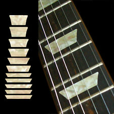 Fret Markers Inlay Sticker Decal Guitar & Bass - Dish Trapez Les Paul - AWP