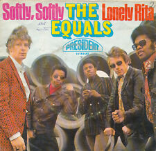 "7"" - THE EQUALS - Softly,Softly / Lonely Rita - PRESIDENT 14159 - DE 1968"