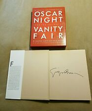 Rare 75 years of Hollywood parties Oscar night signed by Giorgio Armani !!