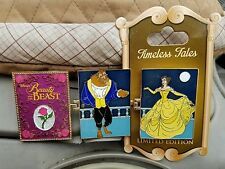 Disney Disneyland Timeless Tales Beauty and the Beast Belle Beast Pin