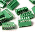 6-Pin 5PCS 2.54mm Pitch Panel PCB Mount Screw Terminal Block Connector DT