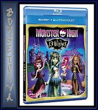MONSTER HIGH - 13 WISHES **BRAND NEW BLU-RAY **
