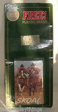 Skoal Playing Cards Cowboys Horses SEALED Deck 1992 Tobacciana Advertising
