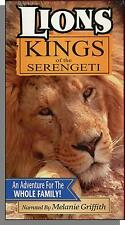Lions: Kings of the Serengeti (1995) - Melanie Griffith - New VHS Video!