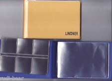 Münzen-Taschenalbum für 48 Münzen (bis 2 Euro/ Zloty)  in gelb     Li2070
