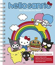Hello Kitty Weekly and Monthly Planner (2017), New, Free Shipping