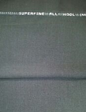 120'S Italian Wool suit fabric navy Blue 4.1 Yards  msrp 1499  Free Shipping
