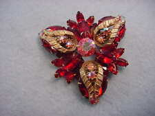Vintage Juliana Large Rhinestone Pin