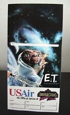 US Air Universal Studios E.T. Adventure Ticket Holder Artwork by Drew Struzan