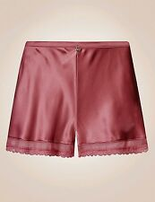 BNWT M&S Rosie for Autograph Silk & Lace French Knickers. Rose Size 6